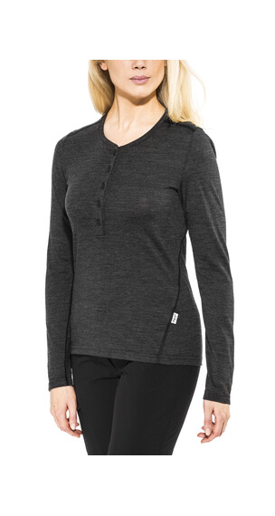 Lundhags Merino Light Top Women Grey Melange